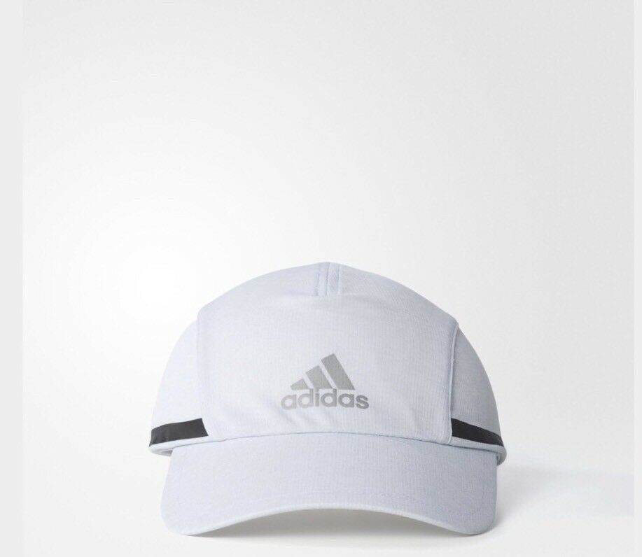5bfe2927addf31 adidas running Cap Climachill Peak Cap Hat BNWT One Size fits most free  delivery